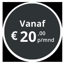 PublicView prijs vanaf € 20,00 p/mnd